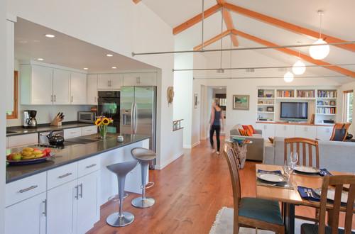 Split Roof Design: Renovation To A Split-Level Ranch In Brewster, MA