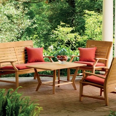 Sutton Classic Conversation Patio Set by Oxford Garden modern-patio-furniture-and-outdoor-furniture