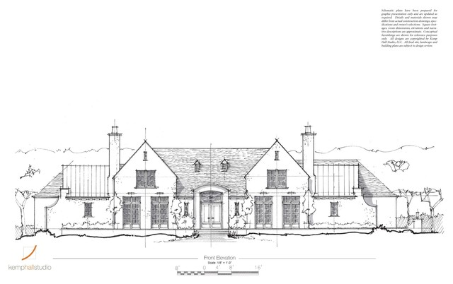 Manor House traditional-exterior-elevation