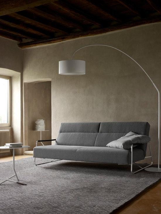 Janus - Ligne Roset - Janus sofa, Night lamp, Lovey occasional table.
