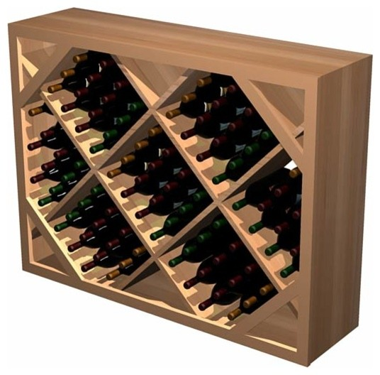 Build wooden diamond wine rack design plans download Wine rack designs wood