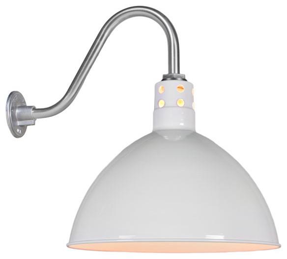 Wesco Vented Gooseneck Light Industrial Outdoor