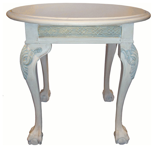 Claw and Ball Foot Table Traditional Side Tables And  : traditional side tables and end tables from www.houzz.com size 640 x 616 jpeg 57kB
