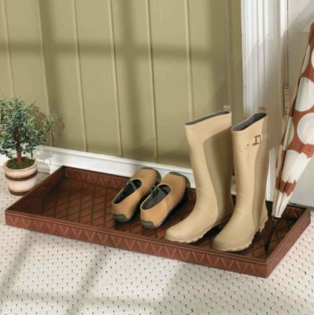 Entryway Boot Tray Traditional Shoe Storage By