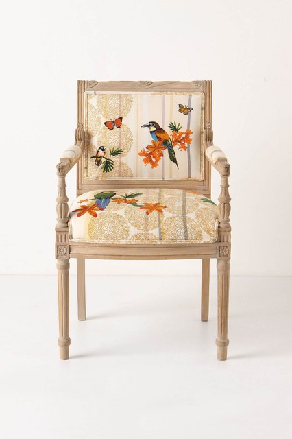 Tropical Flock Chair eclectic-dining-chairs