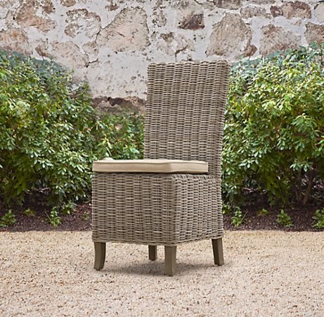 Provence Side Chair traditional outdoor chairs