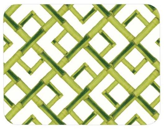 Felt-Backed Bamboo Place Mat modern-placemats