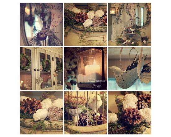 Holiday Decorating - Dawn Mohrmann Hydrangea Home