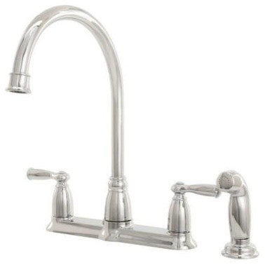 moen banbury two handle kitchen faucet chrome