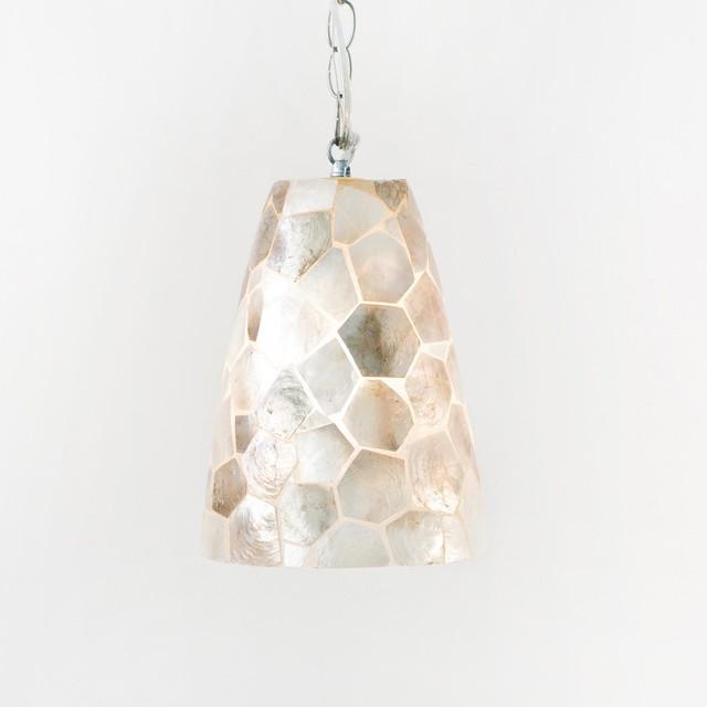 capiz shell pendant traditional pendant lighting by candelabra. Black Bedroom Furniture Sets. Home Design Ideas
