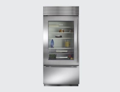 Sub-Zero  36 Built-in Bottom-Freezer Refrigerator modern refrigerators and freezers