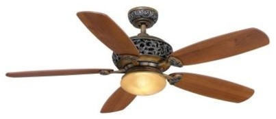 Hampton Bay Ceiling Fans 52 in. Caffe Patina Ceiling Fan 34112 - Contemporary - Ceiling Fans