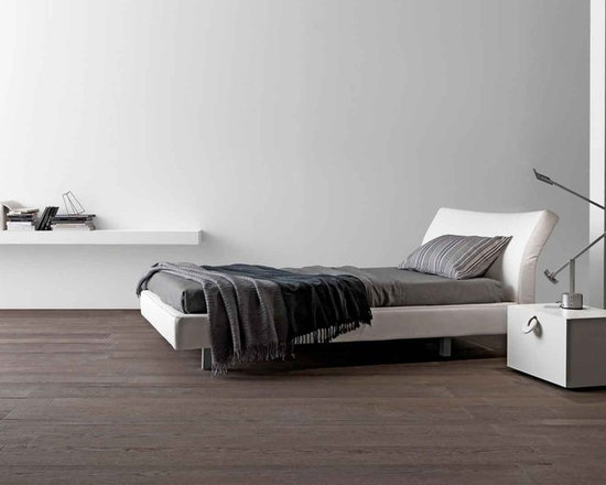 Reflex Bed - Reflex bed is an upholstered bed with adjustable headboard and reclining mechanism. Contact info@casaspazio.com for more information.