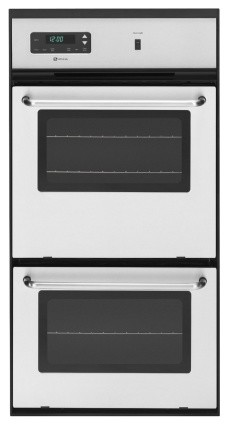 """CWG3600AAS 24"""" Double Gas Wall Oven With 2.7 Cu. Ft. Upper Oven  1.3 Cu. Ft. Ext contemporary-ovens"""