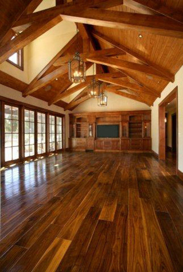 Woodside Residence traditional wood flooring