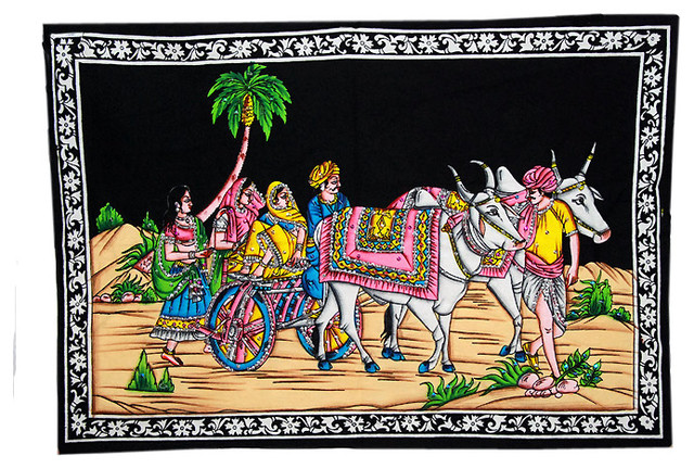 Indian Decor wall hanging tapestry artwork