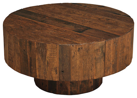 Old Barnwood Cocktail Table contemporary coffee tables