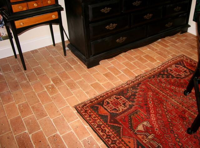 Inside Reclaimed Chicago Bricks traditional-floor-tiles