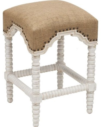 Abacus Counterstool, White eclectic-furniture