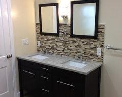 Need help on bathroom ideas.no more oak! - Houzz
