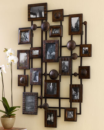Natane collage frame traditional picture frames by for Unique wall frames