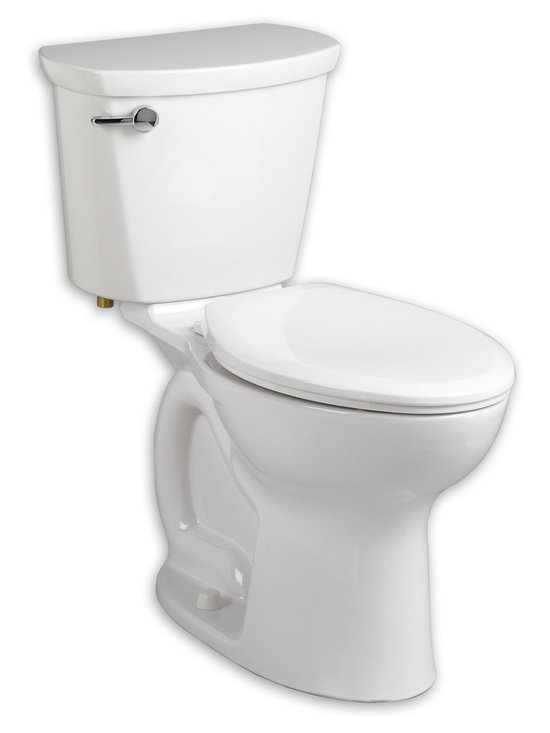 "Cadet PRO Right Height Elongated Toilet - This low-consumption toilet from our trade-only Cadet® PRO™ line offers professionals great value, price and performance. A Cadet Flushing System and PowerWash® rim ensure a powerful flush and superior bowl cleaning every time. A 16-½"" rim height enhances ease of use and its EverClean® surface stays cleaner, longer."