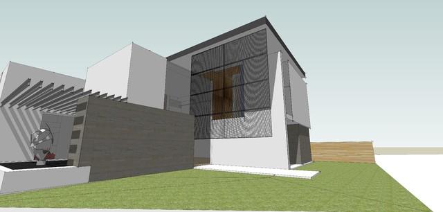 Faircrest Avenue in Progress contemporary-rendering