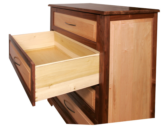 Black Walnut and Maple Chest - Contemporary - Accent Chests And Cabinets - other metro - by Big ...