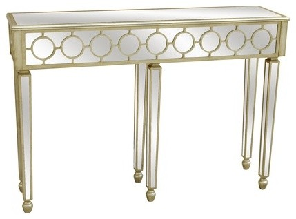 Mirrored Console Table modern-coffee-tables
