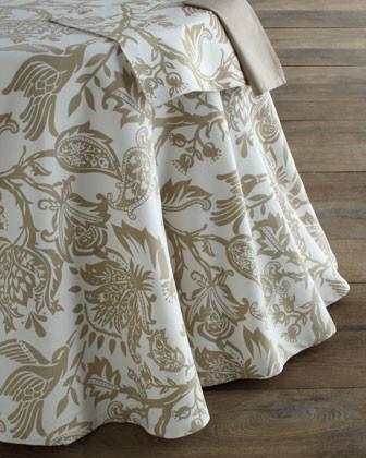 "Avery"" Palampore Table Linens - traditional - tablecloths - by Horchow"