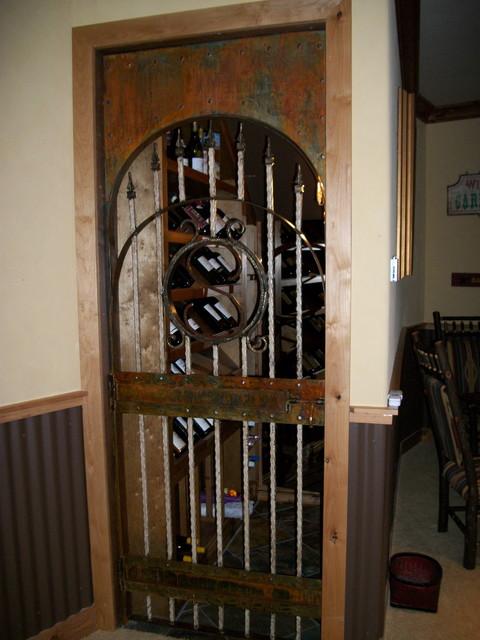 Wine Cellar Door  Home Decor  salt lake city  by da Vinci Details