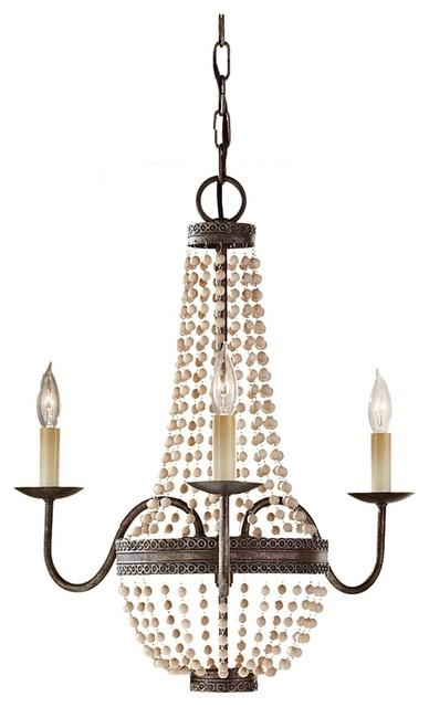 bronze and wooden bead mini chandelier traditional bronze and wooden bead mini chandelier traditional download - Wood Bead Chandelier