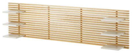 mandal wall mounted headboard scandinavian headboards by ikea. Black Bedroom Furniture Sets. Home Design Ideas