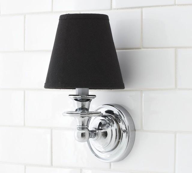 Nash Candlestick Sconce Base traditional-wall-lighting