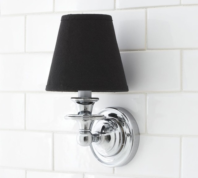 Nash Candlestick Sconce Base traditional wall sconces