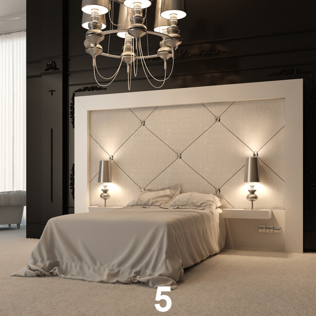 Bedroom headboard designs home decorating ideas for Bedroom headboard ideas