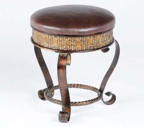 Hilton Vanity Stool Eclectic Vanity Stools And Benches By Kirkland 39 S