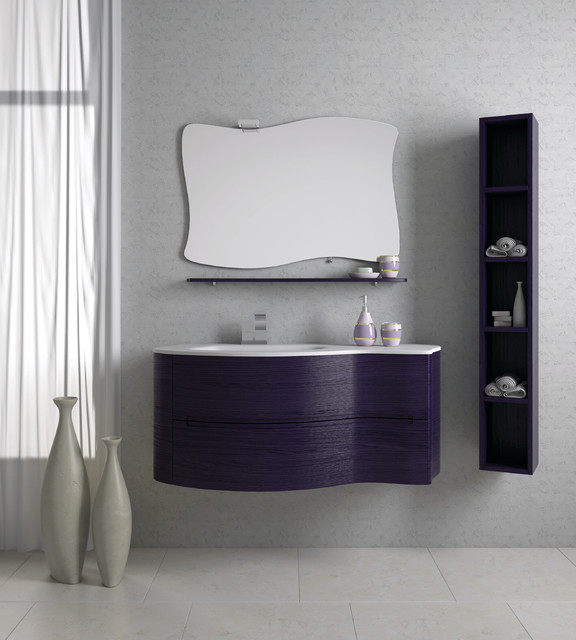 Italian Bathroom Vanity - NUVOLA modern-bathroom-vanities-and-sink-consoles