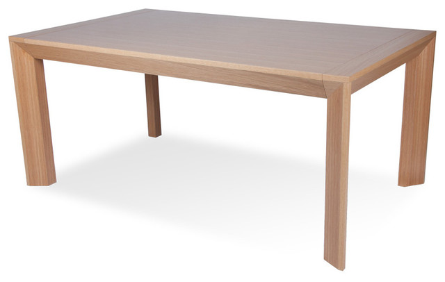 Rob Natural Oak Dining room Table - modern - dining tables