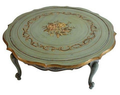 Vintage French Provincial Coffee Table modern-coffee-tables