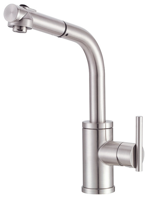 Parma™ Single Handle Pull- Out Kitchen Faucet modern-kitchen-faucets