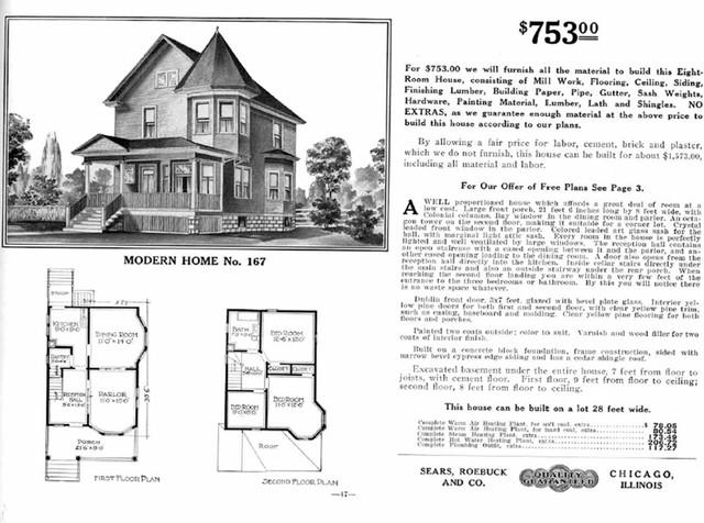 Vintage sears catalog craftsman house plans modern for Vintage craftsman house plans