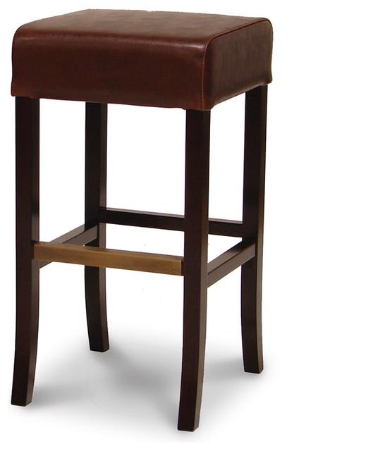 Hudson Leather 30 inch Stool Traditional Bar Stools  : traditional bar stools and counter stools from houzz.com size 546 x 640 jpeg 48kB