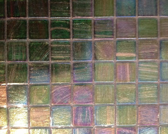 SALE - IN STOCK - We have 60 sheets feet of Trend Italian glass mosaic from the Shining collection.