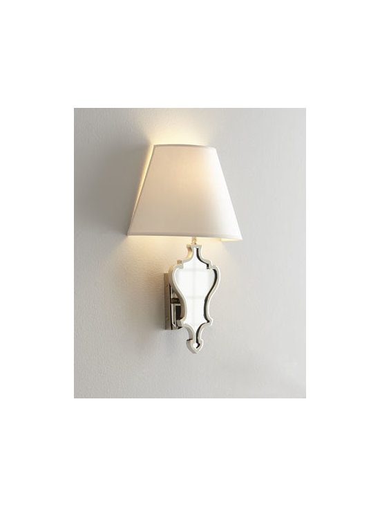 "VISUAL COMFORT - VISUAL COMFORT ""Madeline"" Sconce - We love the graceful, feminine shape of this charming sconce. Imagine one illuminating a hallway or entry way or a pair flanking favorite wall decor or a powder-room mirror. Designed by Alexa Hampton for Visual Comfort. Handcrafted of brass with a pol..."