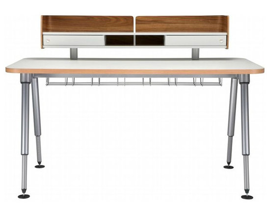 Sense Desk - The design is the work of Korb + Korb for Herman Miller®, Inc. I love how this desk is adjustable so it fits adults and kids.