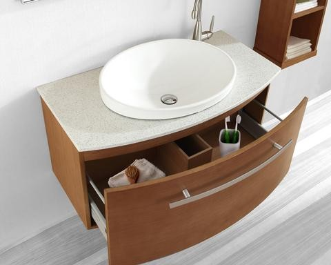 Floating Bathroom Vanities contemporary bathroom vanities and sink consoles