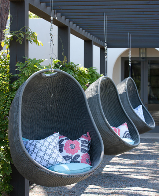 modern outdoor swingsets