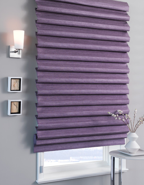 Pleated Roman Shades roman-blinds
