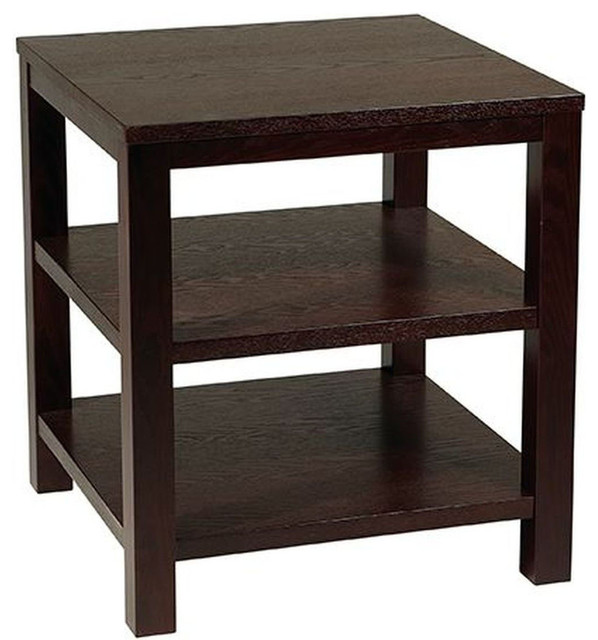 "Merge 20"" Square End Table traditional-side-tables-and-accent-tables"